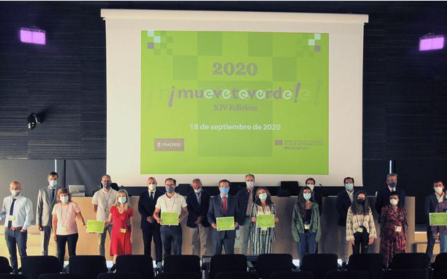 citylogin galardonado en los premios muevete verde
