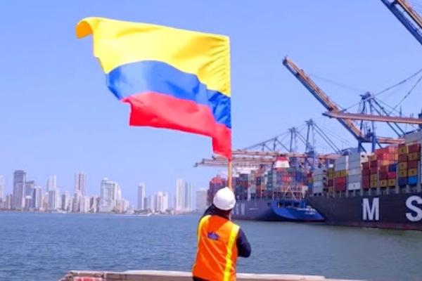 puerto de Barcelona mision colombia