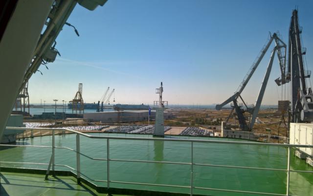 mejoras en el puerto de sagunto