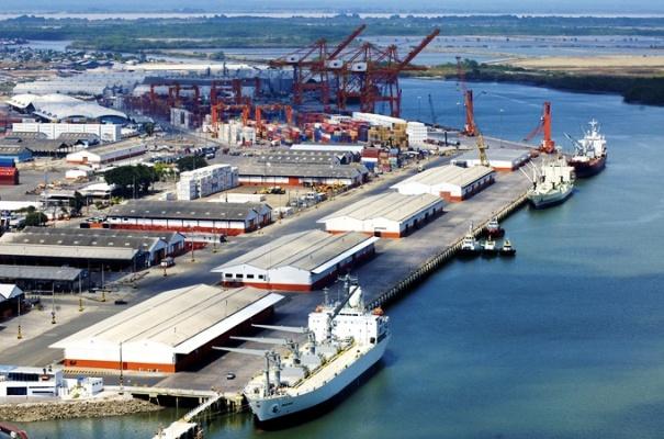 puerto marítimo de Guayaquil