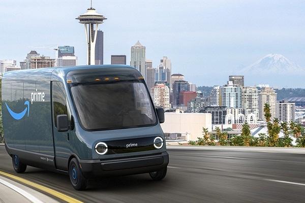 Amazon vehículo reparto eléctrico