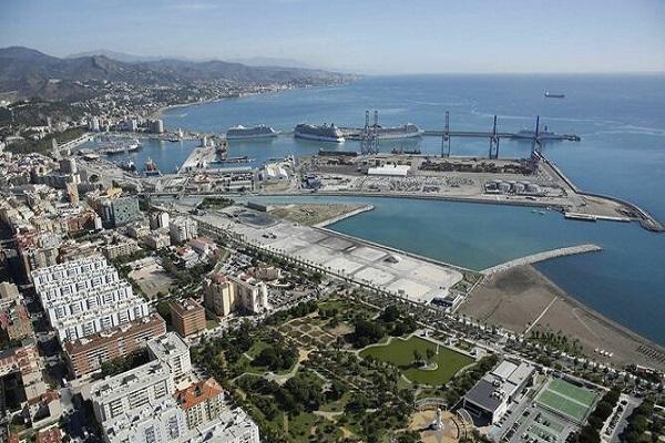El puerto de Málaga avanza en el diseño del nuevo puente de acceso
