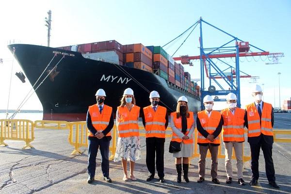 Hapag-Lloyd añade una escala en el puerto de Málaga
