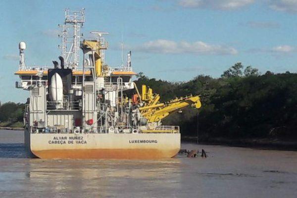 Jan de Nul rio paraguay