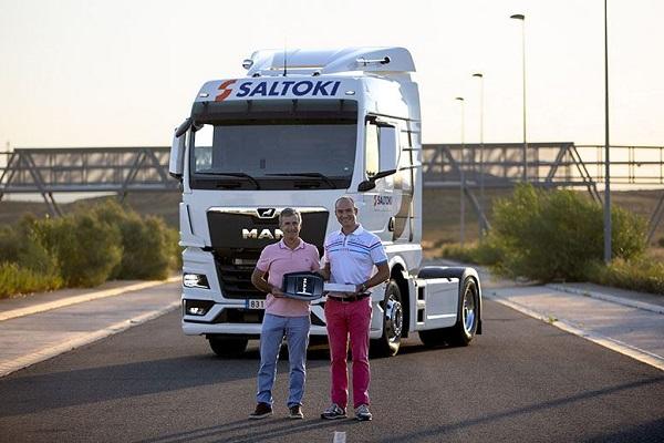 Logística Cosmar camiones MAN