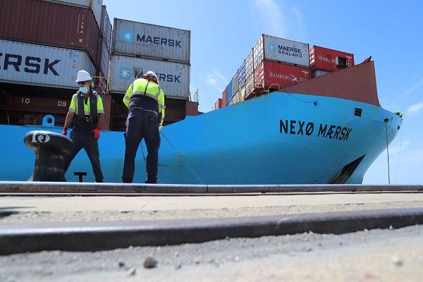 Maersk unirá el puerto de Huelva, Algeciras y Leixoes a partir de noviembre