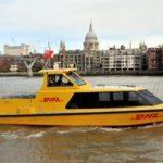 Nuevo servicio de reparto de paquetería de alta velocidad en barco