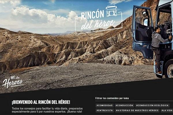 Renault Trucks lanza nueva página web para conductores profesionales