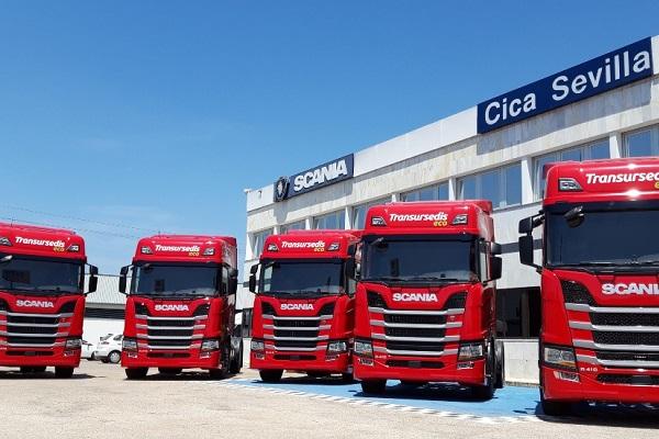 Transursedis Scania R410