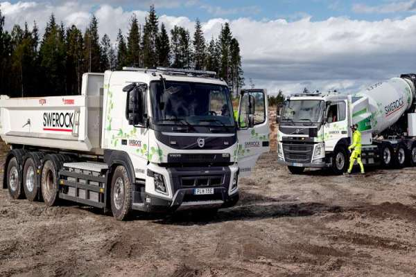 Volvo Trucks electricos construccion