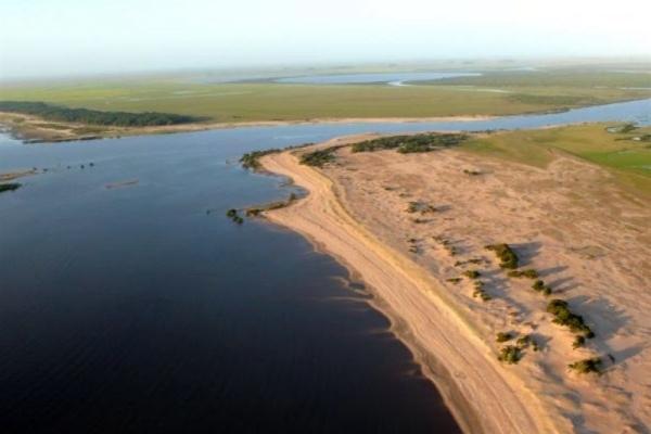 hidrovía de la laguna Merín