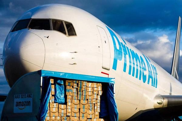 Amazon mejora los tiempos de entrega con su primer hub aéreo europeo