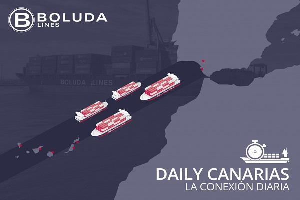 Boluda Lines integra nuevo corredor intermodal diario con Canarias