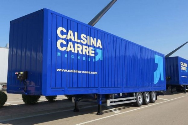 Calsina Carre furgones lonas Lecitrailer flota