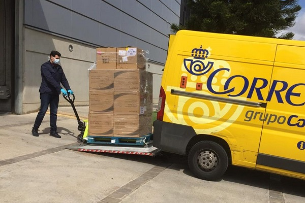 Correos paquetes España