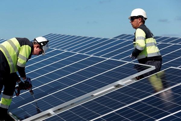 Friologic instalación fotovoltaica Mercamadrid