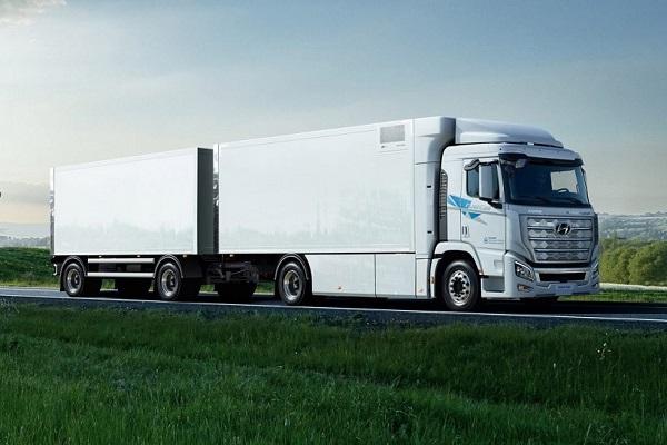 Hyundai avanza en la producción de camiones propulsados por hidrógeno