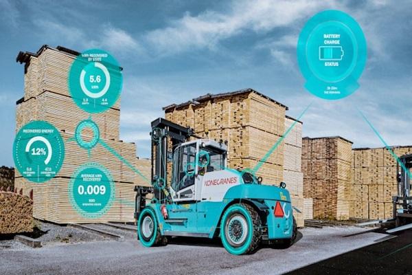 Konecranes lanza su nueva carretilla eléctrica E-Ver en España