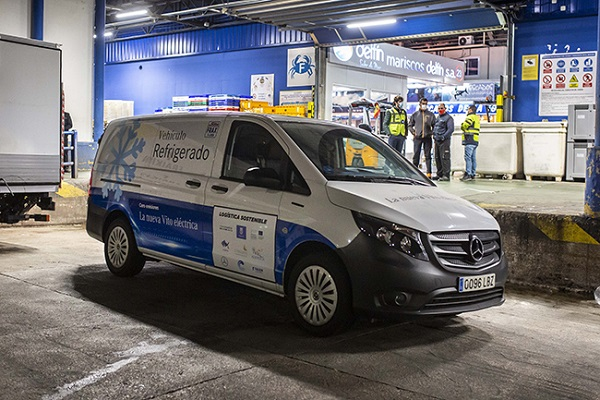 Mercedes-Benz eVito refrigerada