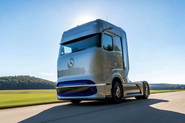 Mercedes Volvo camiones hidrógeno