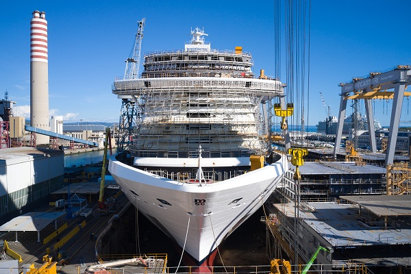 Wärtsilä colabora con Fincantieri en el desarrollo de soluciones para cruceros