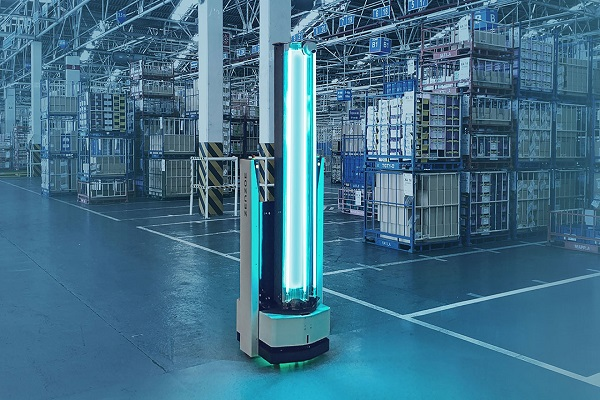 Zenzoe Robot, la nueva gama de desinfección ultravioleta de espacios logísticos