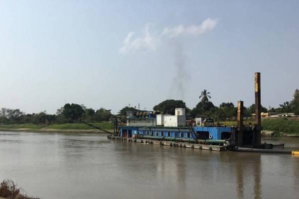 dragado rio magadalena