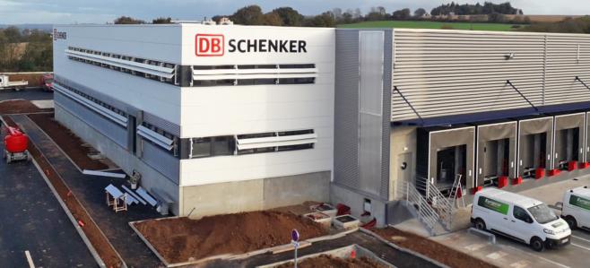nuevo centro logistico de db schenker