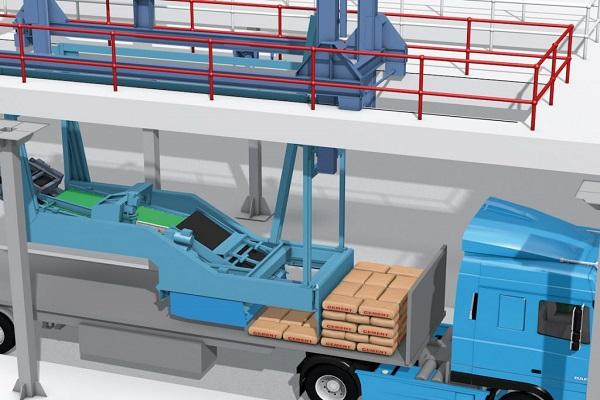 BEUMER autopac, un sistema de carga automática para productos a granel ensacados