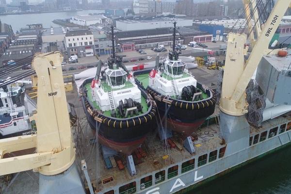Boluda destina dos nuevos remolcadores al Puerto de Zeebrugge