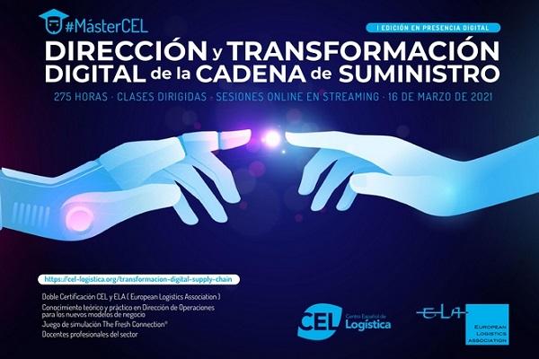 CEL Máster en Dirección y Transformación Digital de la Cadena de Suministro