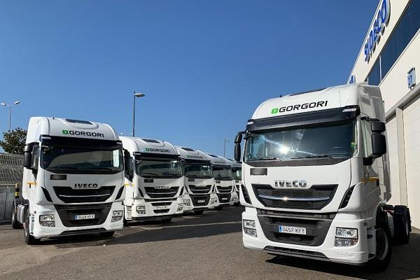 ESP Solutions flota vehículos Iveco Stralis