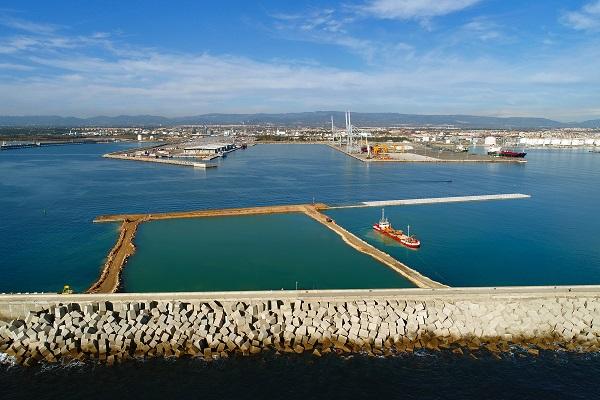 El Muelle de Baleares completa su segundo acceso terrestre en enclave tarraconense