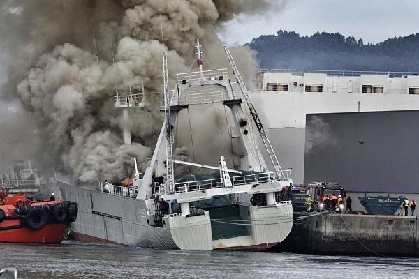 El Puerto de Vigo podría reflotar el buque Baffin Bay