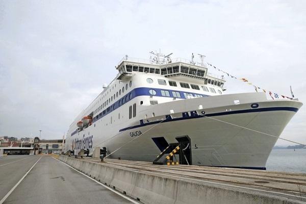El puerto de Santander, escenario para la presentación del buque Galicia