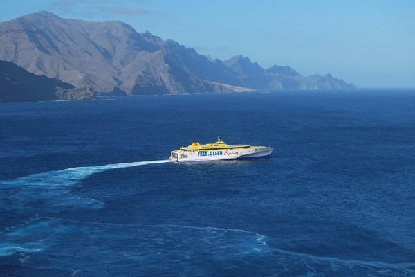 Fred Olsen aumenta los trayectos entre Tenerife y La Palma