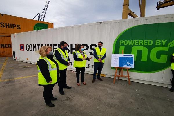 La conexión de Containerships entre Cartagena y Reino Unido obtiene buenos resultados