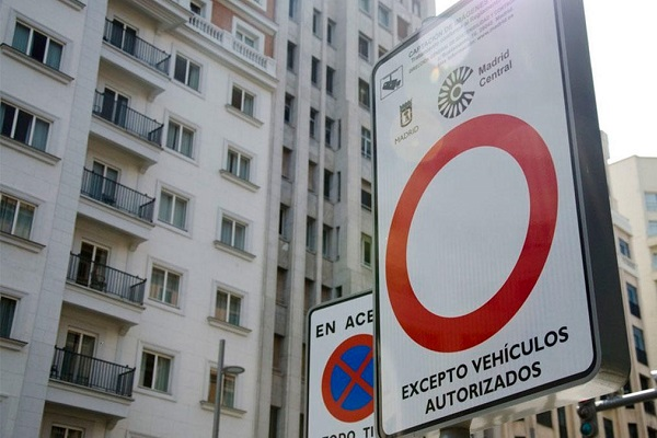 Madrid Central vehículos sin distintivo 2021