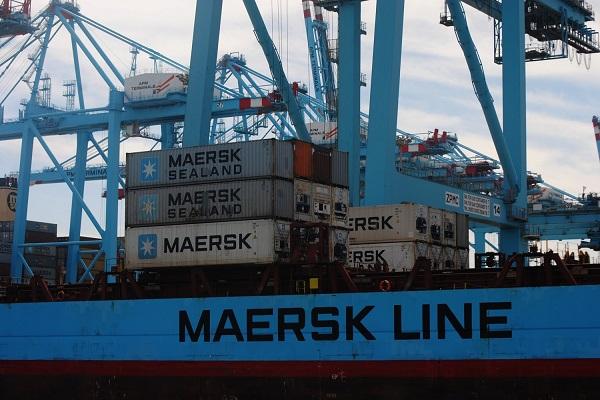 Maersk contenedores