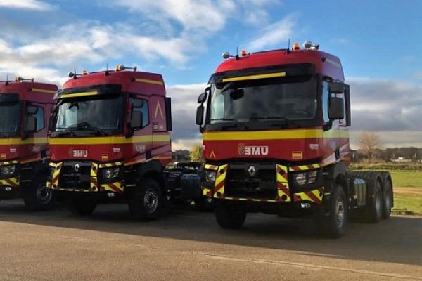 Unidad Militar de Emergencia camiones Renault Trucks