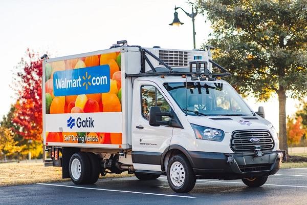 Walmart vehículos autónomos 2021