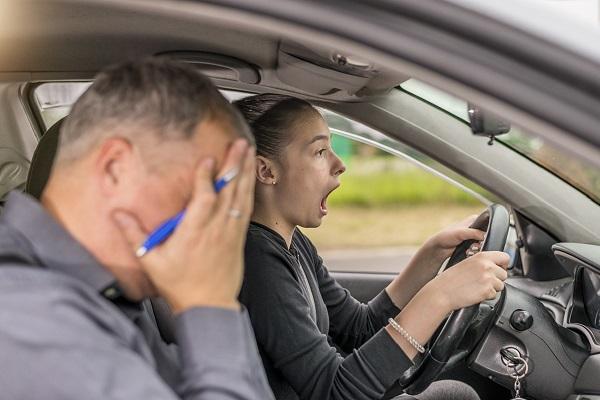 suspensos examen de conducir DGT