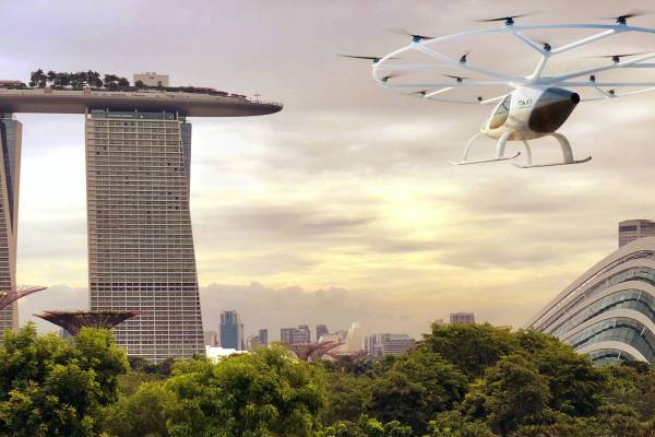 volocopter singapure