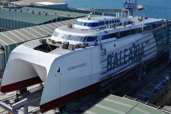 Baleària estrenará su fast ferry Eleanor Roosevelt en marzo