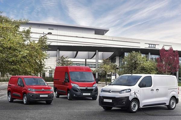Citroën España vehículos comerciales 2020