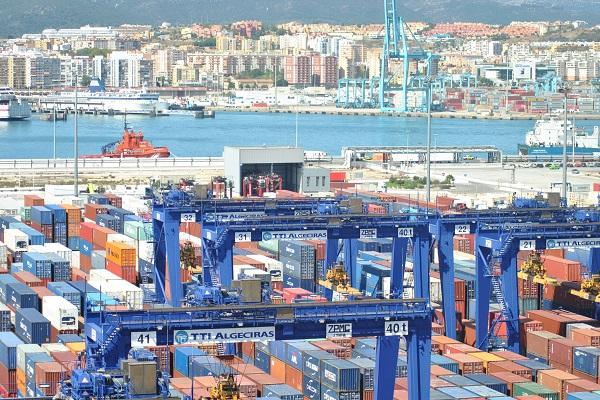 El Puerto de Algeciras mueve más de 5 millones de TEUs en 2020