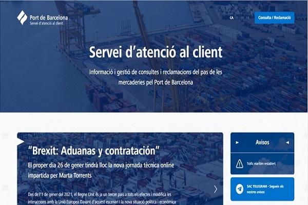 El Puerto de Barcelona mejora su servicio online de atención al cliente