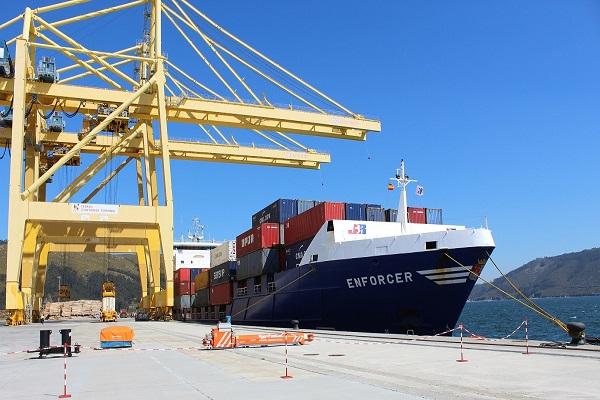 El Puerto de Ferrol rebasa los diez millones de toneladas en 2020