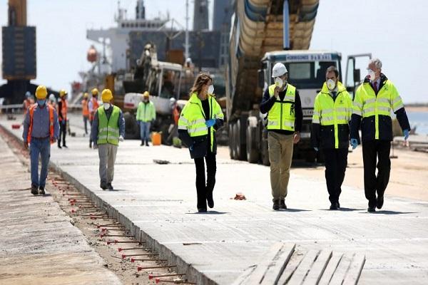 El Puerto de Huelva adecuará las redes eléctricas a la demanda de servicios