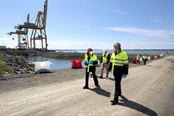 El Puerto de Huelva consigue la quinta posición en sistema portuario español